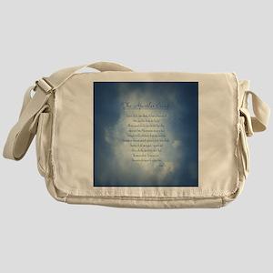 Apostles Creed Cyanotype Messenger Bag