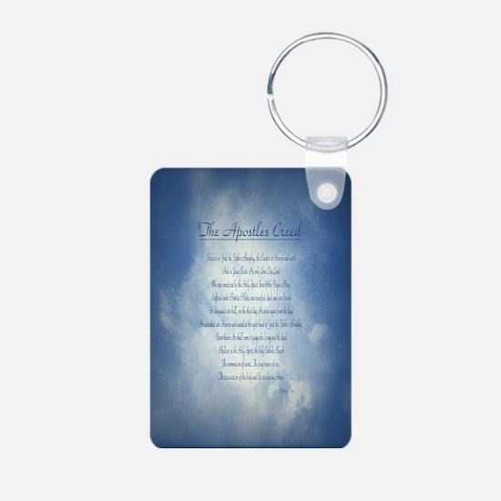 Apostles Creed Cyanotype Keychains