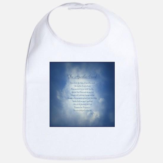 Apostles Creed Cyanotype Bib