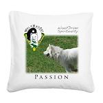 WMC Passion Front Square Canvas Pillow