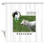 WMC Passion Front Shower Curtain