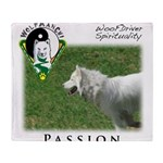 WMC Passion Front Throw Blanket