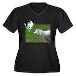 WMC Passion Front Plus Size T-Shirt