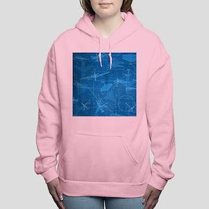 Aerodynamics Women's Hooded Sweatshirt