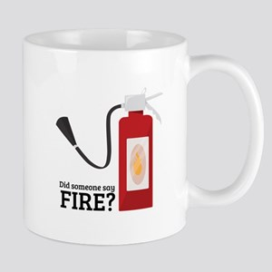 Fire Alarm Mugs