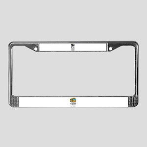 I LOVE GRANDMA License Plate Frame