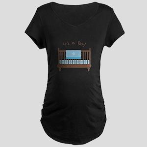 Its A Boy Maternity T-Shirt