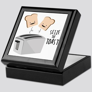 Seize The Toast Keepsake Box