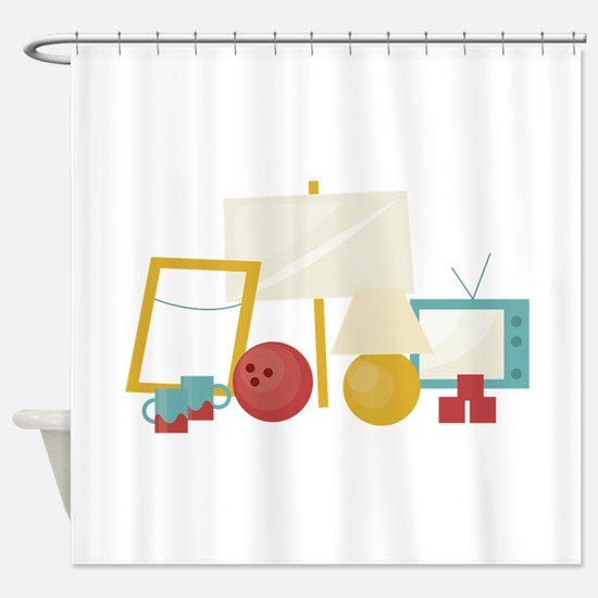 Old Is Gold Shower Curtain