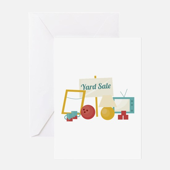 Yard Sale Greeting Cards
