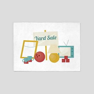 Yard Sale 5'x7'Area Rug
