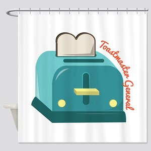 Toastmaster General Shower Curtain