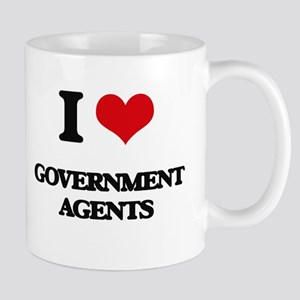 I love Government Agents Mugs