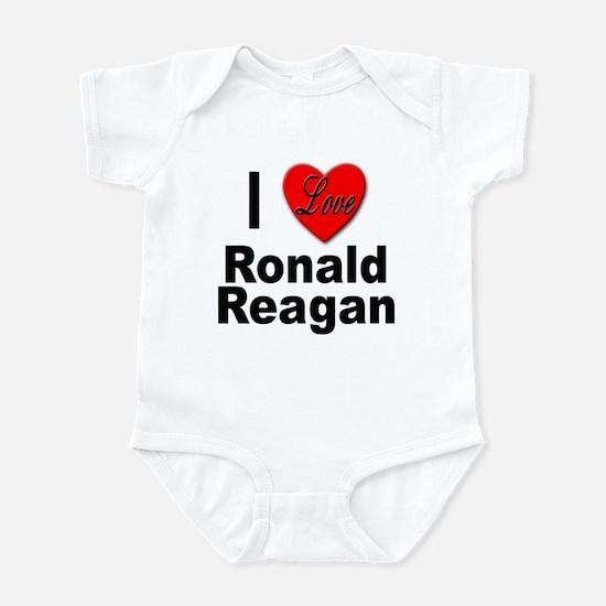I Love Ronald Reagan Infant Bodysuit