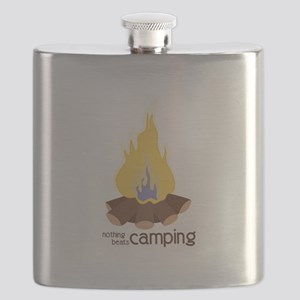 Nothing Beats Camping Flask