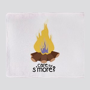 Care For Smore Throw Blanket