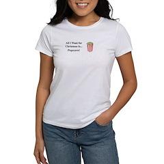 Christmas Popcorn Women's T-Shirt