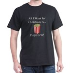 Christmas Popcorn Dark T-Shirt