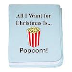 Christmas Popcorn baby blanket
