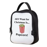Christmas Popcorn Neoprene Lunch Bag