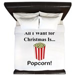 Christmas Popcorn King Duvet