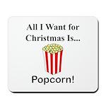 Christmas Popcorn Mousepad