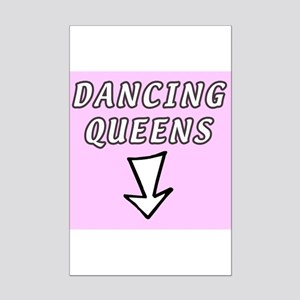 Dancing queens Mini Poster Print