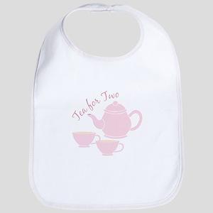 Tea For Two Bib