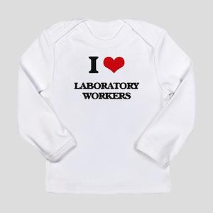 I love Laboratory Workers Long Sleeve T-Shirt