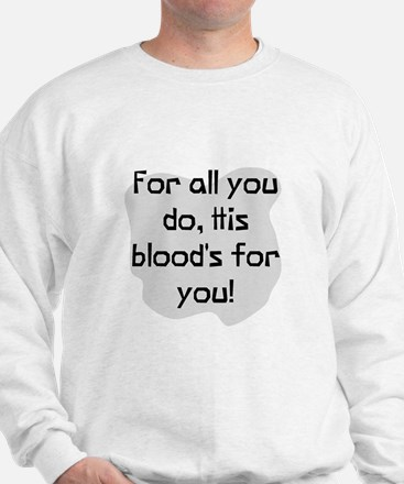 His blood's for you Jumper