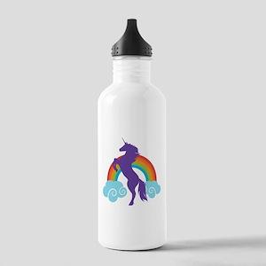 Cute Unicorn Fairy Tale Water Bottle