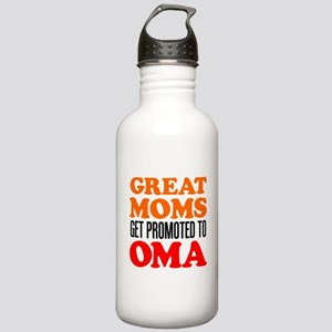 Promoted To Oma Drinkware Water Bottle