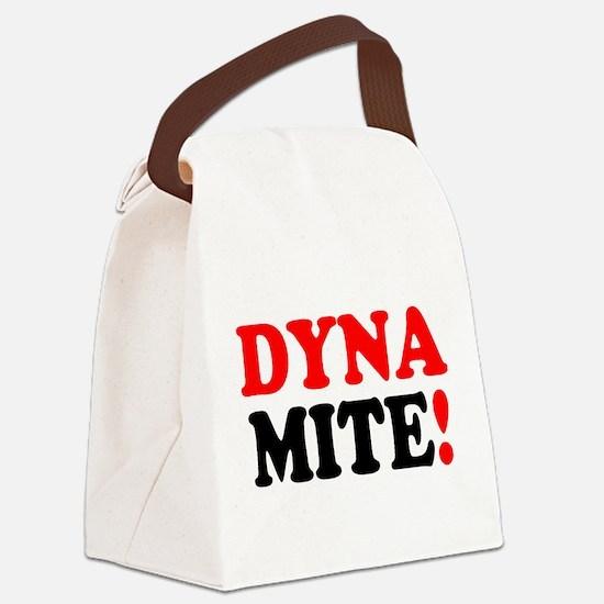 DYNAMITE! - Canvas Lunch Bag
