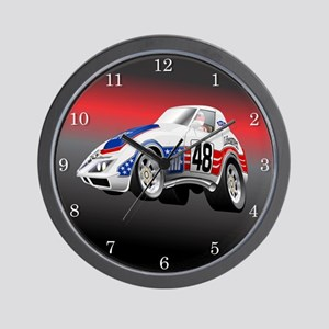 LeMans Endurance Racer 1972 Wall Clock