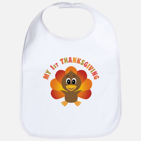 My First Thanksgiving Bib