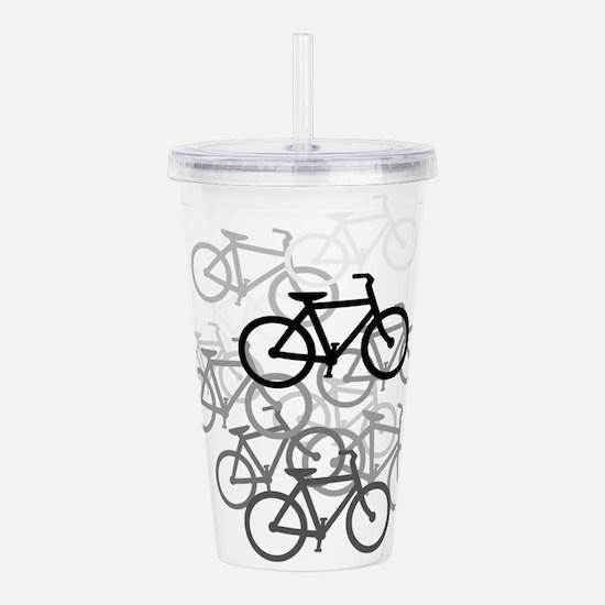 Bicycles Acrylic Double-wall Tumbler