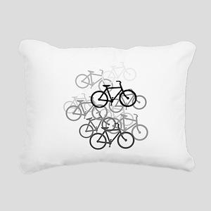 Bicycles Rectangular Canvas Pillow