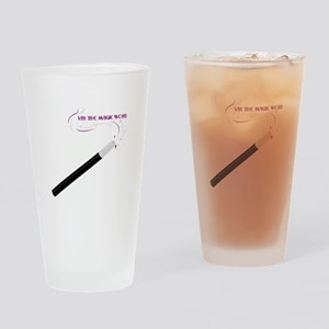 The Magic Word Drinking Glass