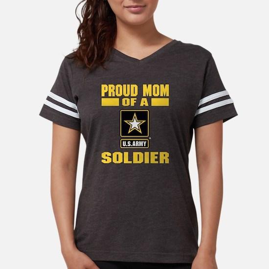 Proud Army Mom Womens Football Shirt