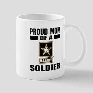 Proud Army Mom 11 oz Ceramic Mug