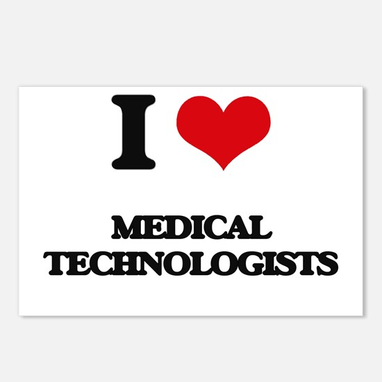 I love Medical Technologi Postcards (Package of 8)