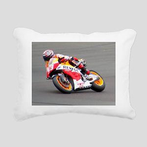 Marc Marquez Rectangular Canvas Pillow