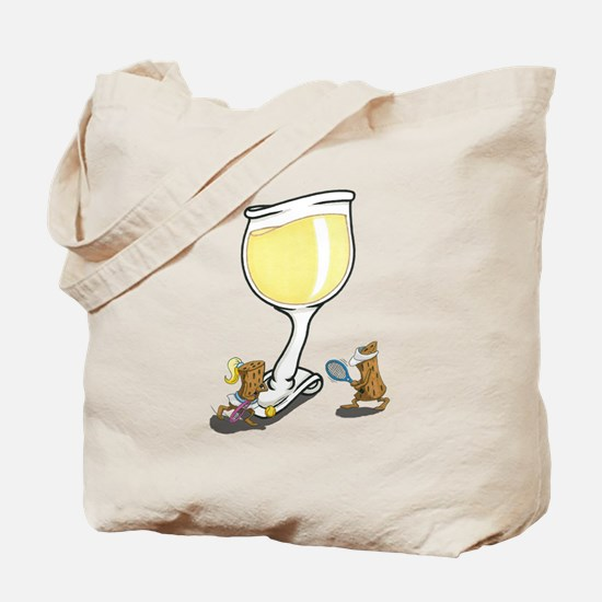 Wine Cork Tennis Tote Bag
