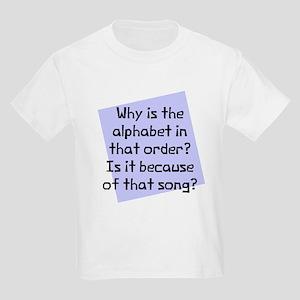 Alphabet in that order Kids Light T-Shirt