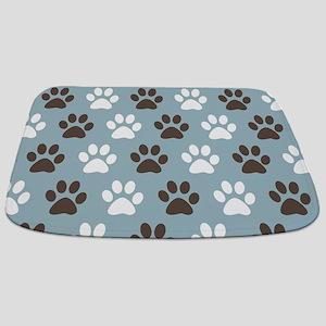 Paw Print Pattern Bathmat