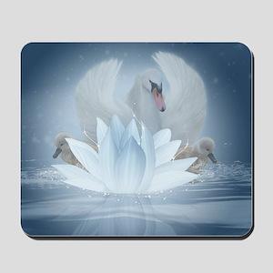 Swan Song Fantasy Art Mousepad