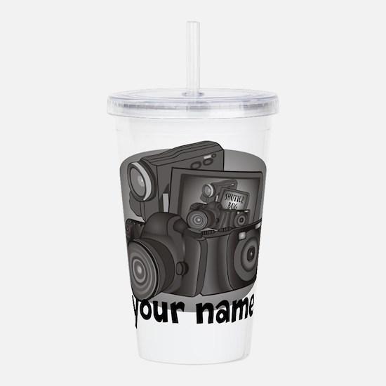 Personalized Photographer Acrylic Double-wall Tumb