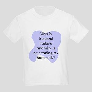 General failure disk Kids Light T-Shirt