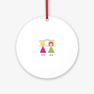 Friendship Ornament (Round)