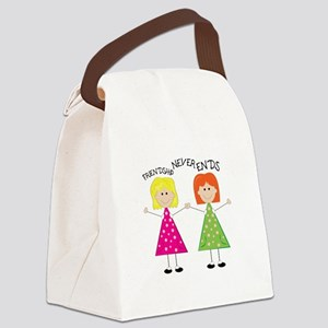 Friendship Canvas Lunch Bag